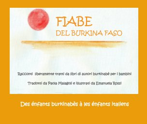 Fiabe del Burkina Faso book cover