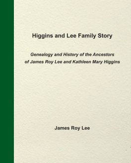 Higgins and Lee Family Story book cover