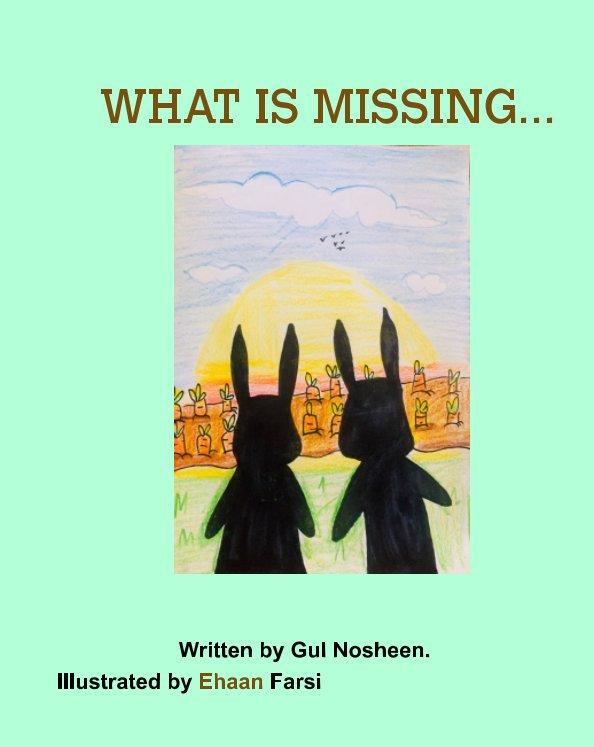 Bekijk what is missing op gul nosheen