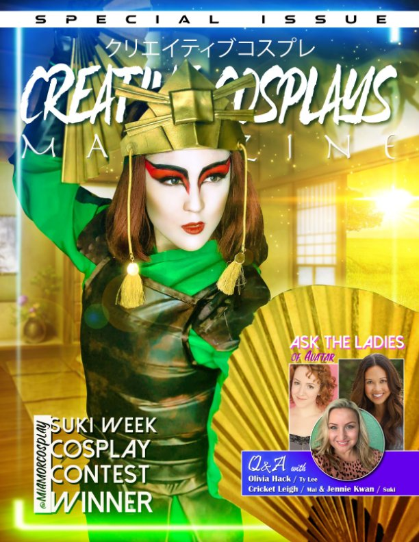 View CCM Avatar Issue by Creative Cosplays Magazine