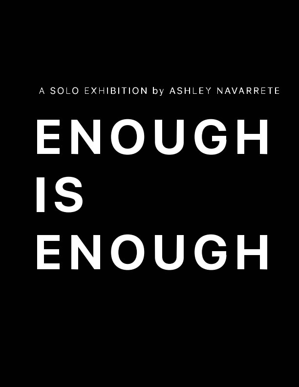 View Enough is Enough by The Oxford Arts Alliance