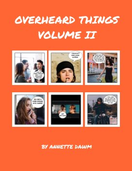 Overheard Things book cover