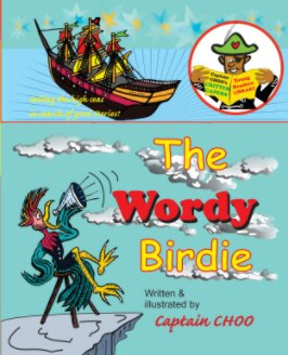 The WORDY BIRDIE book cover