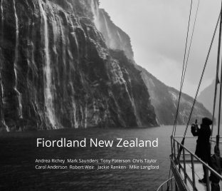 QCCP 2020 Fiordland Landscape Photography Workshop book cover
