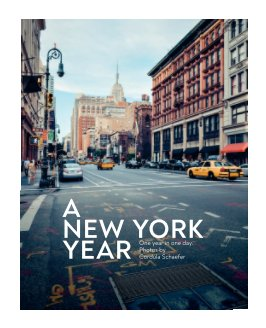 A New York Year book cover