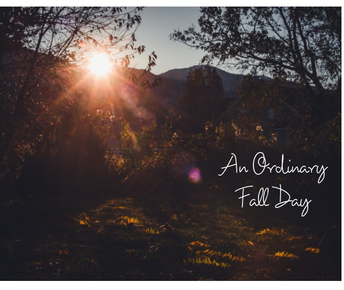 View An Ordinary Fall Day by Michelle Deppe