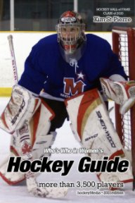 Who's Who in Women's Hockey Guide 2021 book cover
