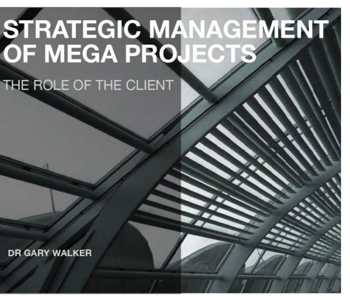 View Strategic Management of Mega Projects by DR GARY WALKER
