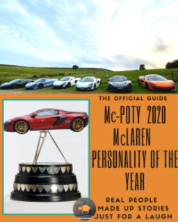 McPOTY The McLaren Owners Club Personality of the Year 2020 book cover