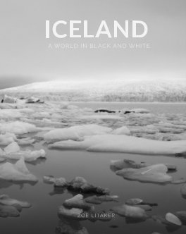 Iceland - A World in Black and White book cover