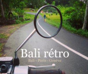 Bali rétro book cover
