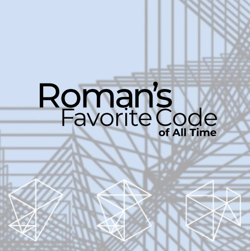 Ver Roman's Favorite Code por Polychain Labs
