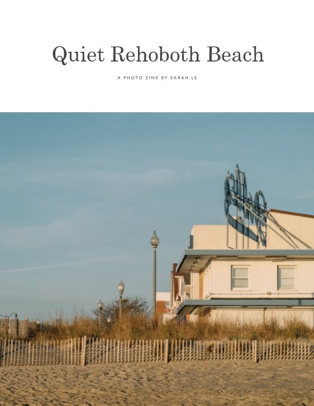 View Quiet Rehoboth Beach by Sarah Le
