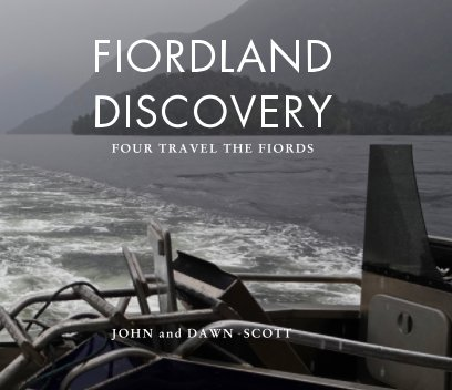 Fiordland Discovery 2020 book cover