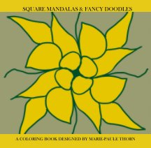Square Mandalas and Fancy Doodles book cover