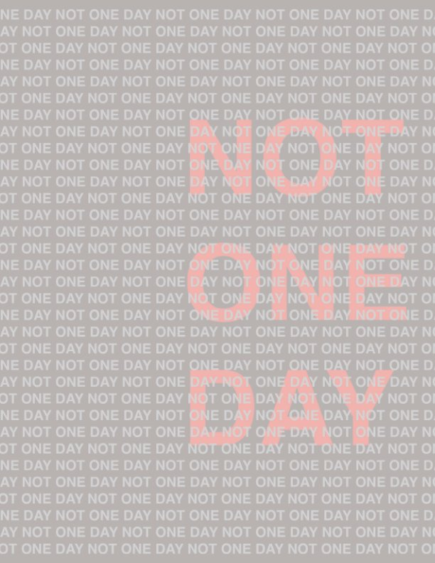 View Not One Day by Lydia McCarthy