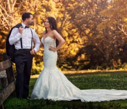 Kimberly and Chris Miserendino Wedding book cover