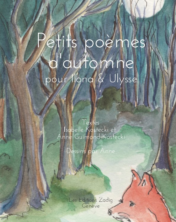 View Petits poèmes d'automne by Anne Guimond Kostecki
