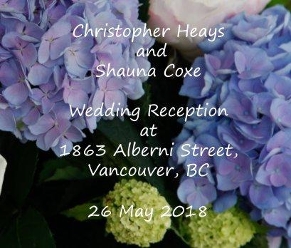 Chris and Shauna Reception book cover