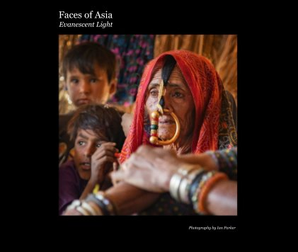 Faces of Asia Evanescent Light book cover