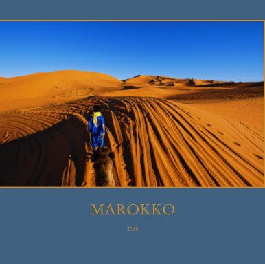 Marokko 2018 book cover