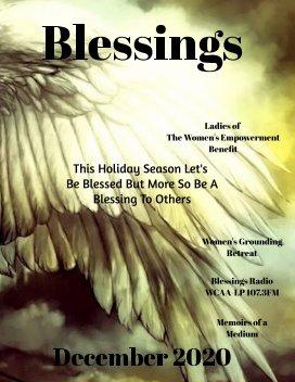 Blessings December book cover