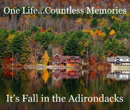 It's Fall in the Adirondacks book cover