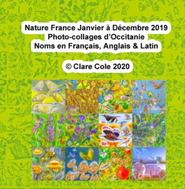 Nature France Janvier à Decembre 2019 Quelques Photocollages book cover