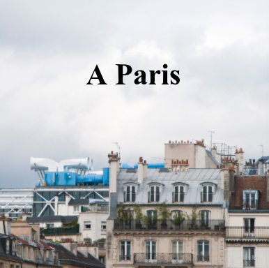 A Paris book cover
