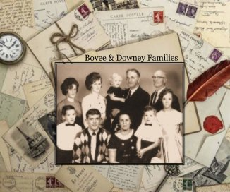 Bovee and Downey Families book cover