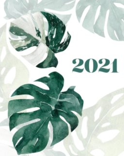 Botanical 2021 Planner book cover