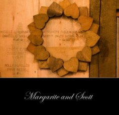 Margarite and Scott Wedding Album book cover