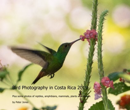 Bird Photography in Costa Rica 2019 book cover