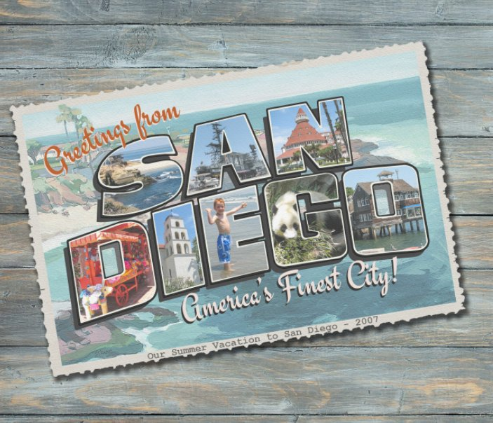 View Greetings from San Diego by Connie Tomasula