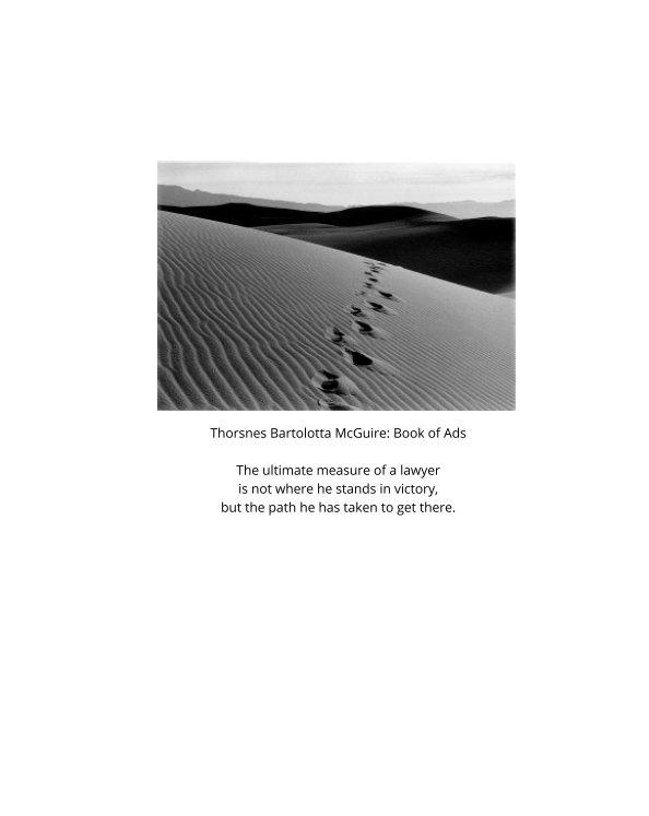 Visualizza Thorsnes Bartolotta McGuire: Book of Ads di William Fridrich, James Hall