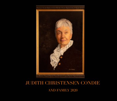 Judy Condie book cover