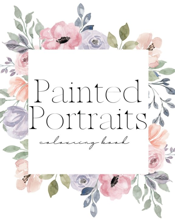 View Painted Portraits III by Skye Magazine
