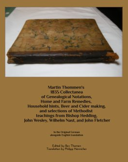 Martin Thommen's  1835 Collectanea book cover