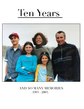 Ten Years book cover