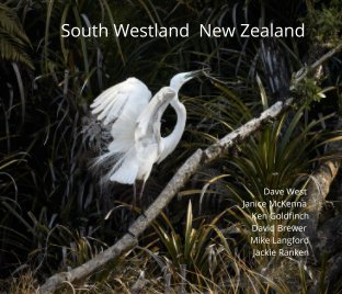 South Westland NZ Photography 2020 book cover