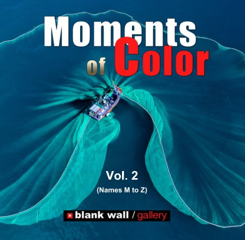 View Moments of Color 2020 Vol. 2 (Names M to Z) by Blank Wall Gallery
