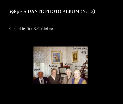 1989 - A Dante Photo Album (No. 2) book cover