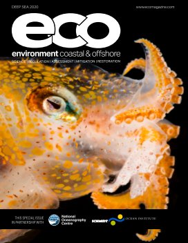 ECO Magazine 2020 Deep Sea book cover