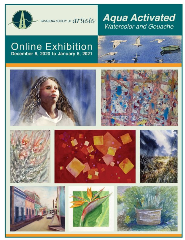 View Aqua Activated Watercolor and Gouache Exhibition by Pasadena Society of Artists