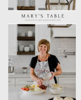 Mary's Table book cover