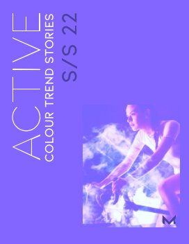 ACTIVE Colour Trend Stories S/S 22 book cover