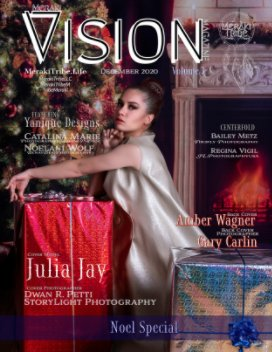 Meraki Vision December Noel book cover