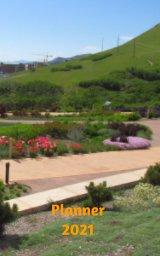Botanical Garden Planner 2021 book cover