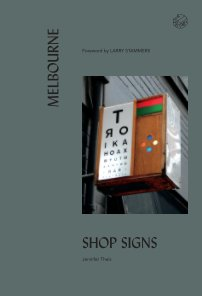 Melbourne Shop Signs book cover