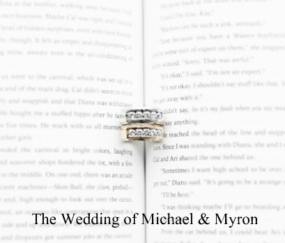 The Wedding of Michael and Myron book cover